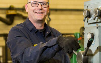 Ernst-Jan 1 jaar in dienst